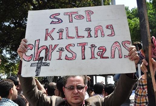 """""""Verborgen handen zaaien sektarische onrust in Egypte"""""""