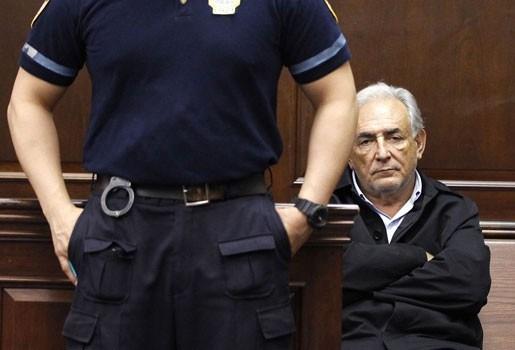 DSK in rechtbank met nieuw verzoek op borgtocht vrij te komen
