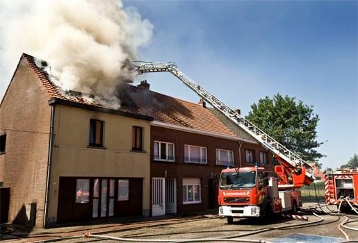 Woningbranden steeds moeilijker te bestrijden