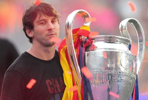 Lionel Messi wint Trofee Di Stéfano derde jaar op rij
