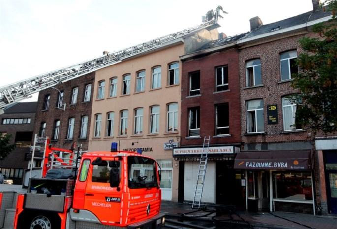 Brand schrikt Leuvensesteenweg op