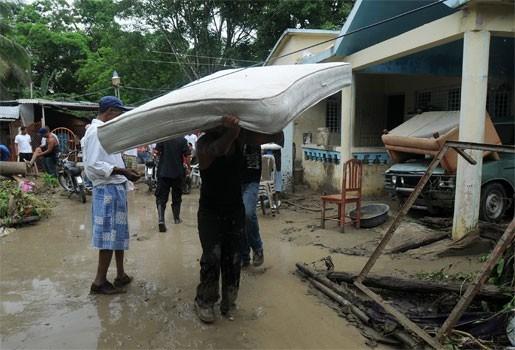 11.000 geëvacueerden door regenweer op Dominicaanse Republiek