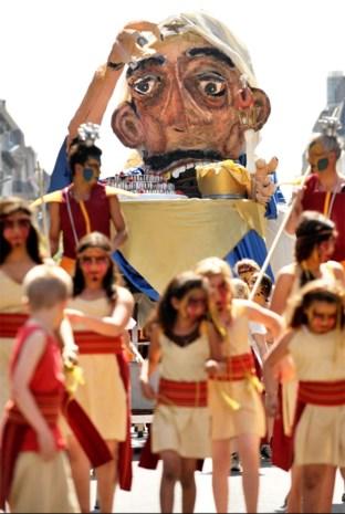 Borgerhout roept bewoners op om een reus te maken voor de 300ste verjaardag van de Reuzenstoet