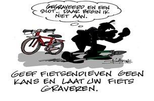 Laat je fiets graveren