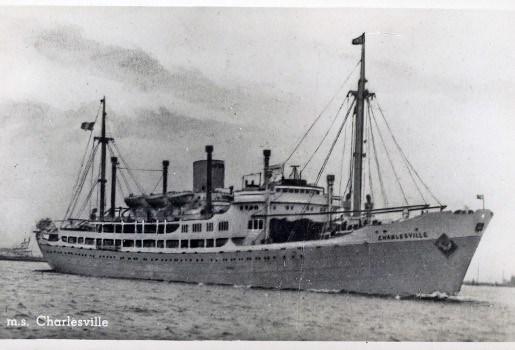 Congoboot Charlesville voor Antwerpen niet haalbaar