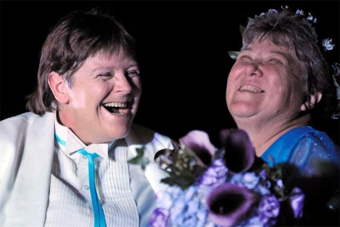Twee lesbische oma's zorgen voor primeur in New York