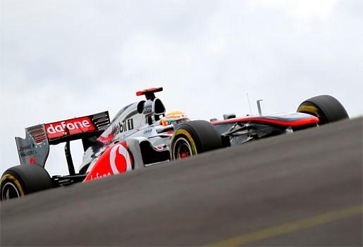 Hamilton de snelste op de Nürburgring