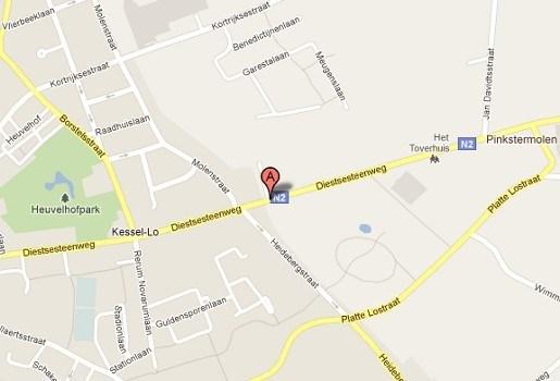 Gewapende overval op shop van tankstation in Kessel-Lo