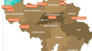 Hier houdt u het droog: Belgische microklimaatjes met minder regen