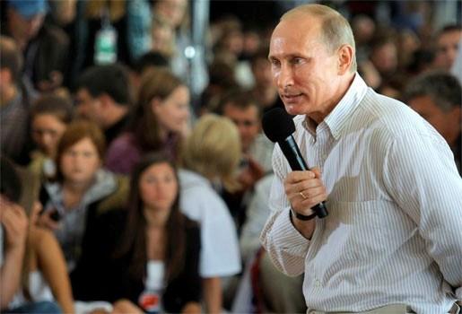 Poetin wil een fusie tussen Rusland en Wit-Rusland