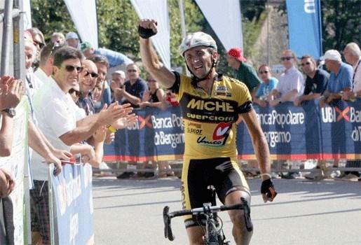 Davide Rebellin (40) wint Trofeo Melinda