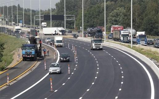 Werken E19 tussen Mechelen en Rumst dag eerder afgerond