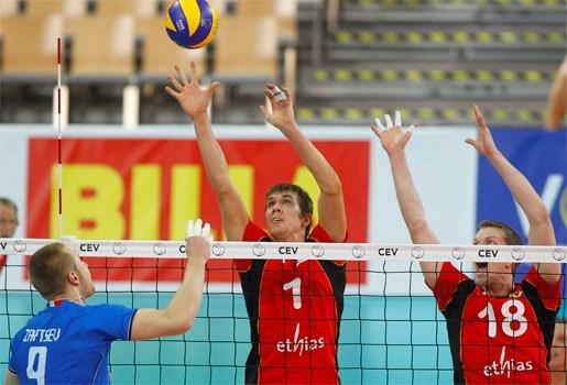 België verliest eerste wedstrijd op EK volley met 3-1 van Italië