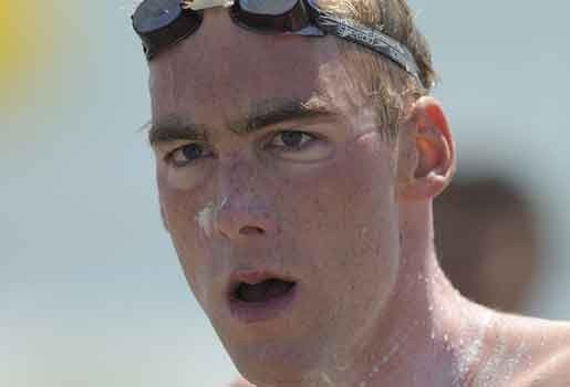 Brian Ryckeman is Europees kampioen 25 km in open water