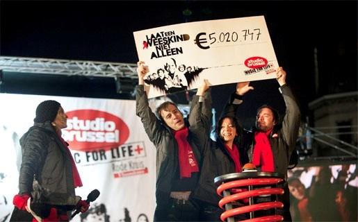 Laatste editie Music for Life doet drie dagen Antwerpen aan