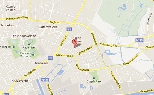 60-jarige voetganger zwaargewond na aanrijding in Merksem