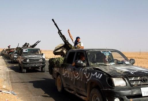 Libische opstandelingen zijn Kadhafibastion Bani Walid binnengetrokken