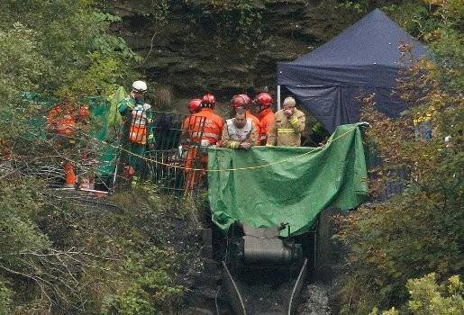 Vier mijnwerkers dood in overstroomde mijn in Wales