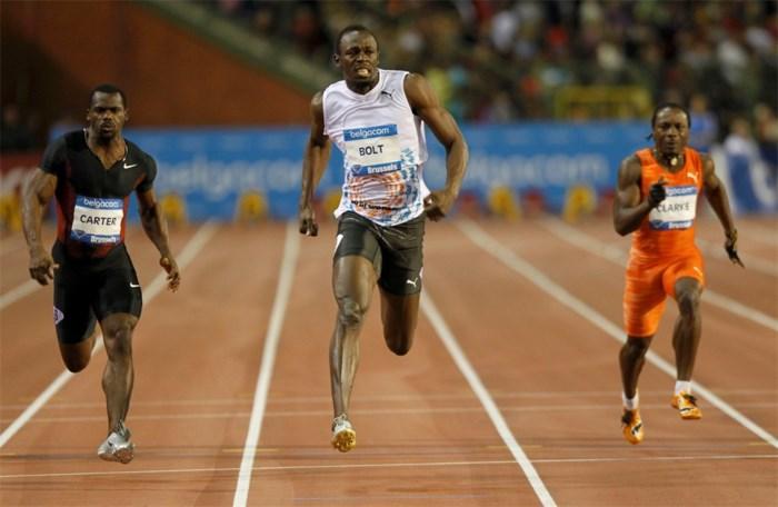 Usain Bolt pakt 100 meter én beste wereldjaarprestatie