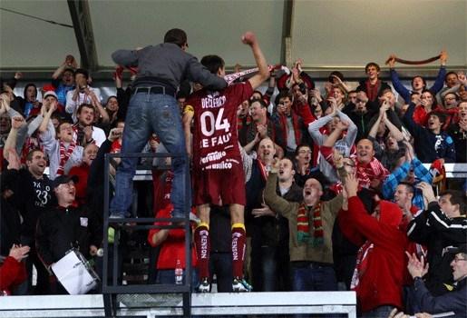 Zulte Waregem wint derby tegen Kortrijk