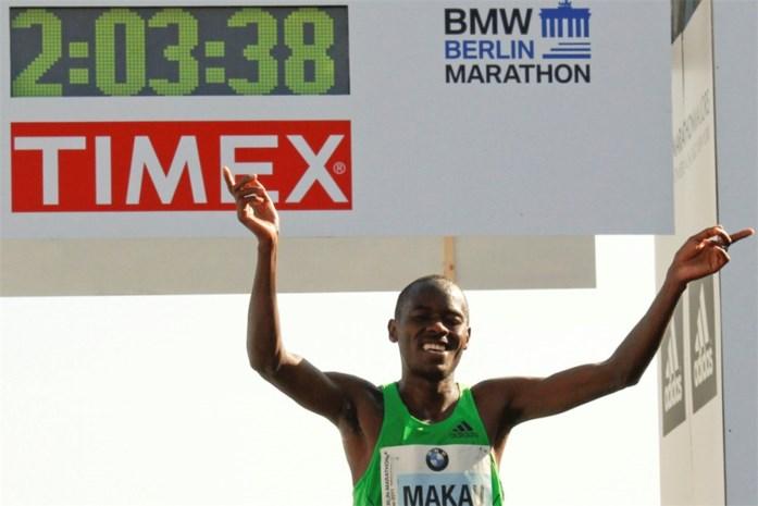 Marathon: Makau duikt onder recordtijd Gebreselassie
