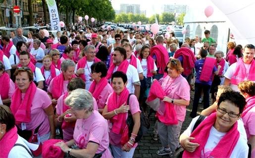 3.500 mensen maken vuist tegen kanker