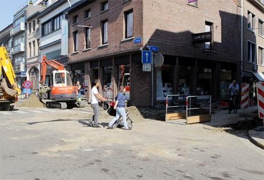 Parkeerplaatsen aan Site Cop niet meer bereikbaar