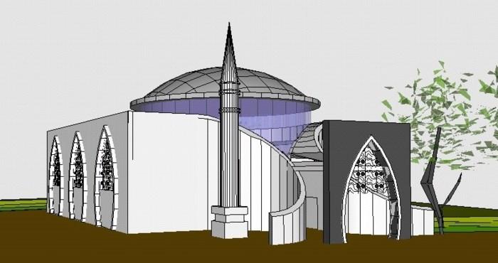 Turken mogen met bouw van moskee beginnen