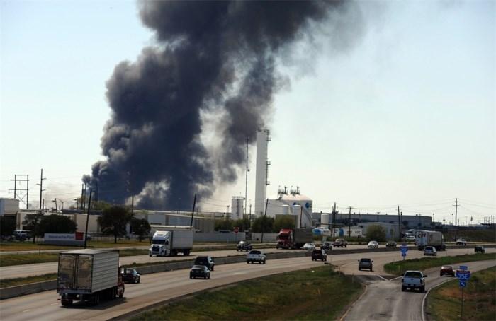 Chemische fabriek in Texas in brand