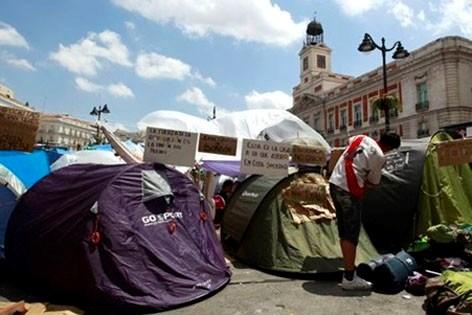 Indignados organiseren wereldwijd protest