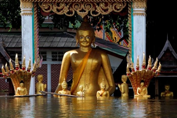 Zware overstromingen bereiken Bangkok