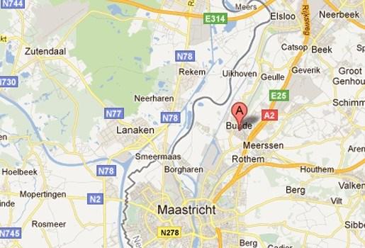 Trein ramt Belgische wagen in Nederlands Limburg