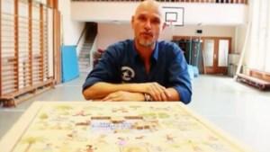 Axl Peleman puzzelt voor Plan België (video)