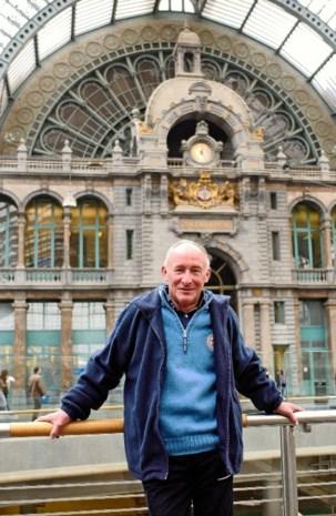 Tentoonstelling in en over Centraal Station