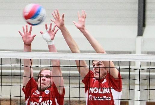 Belgische volleybalmannen verslaan Maaseik in eigen huis