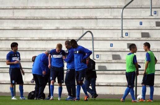 Laatste training niet in stadion van Valencia?