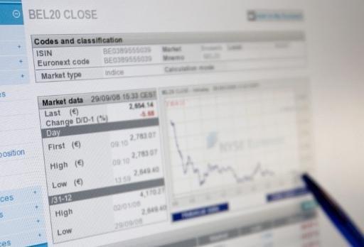 Aandeel Dexia al ruim 15 procent lager