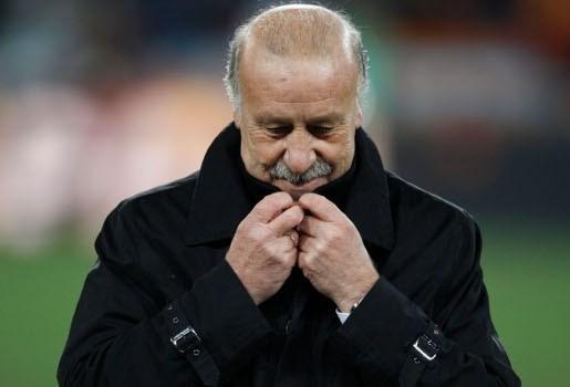 Del Bosque blijft ook na EK 2012 Spaans bondscoach