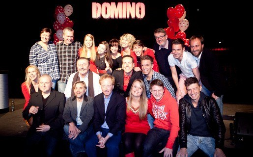 Cast Clouseaumusical 'Domino' voorgesteld
