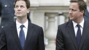 Clegg niet opgezet met verzet van Cameron