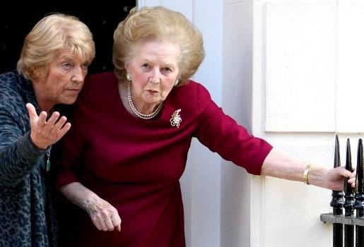 Margaret Thatcher plant eigen begrafenis