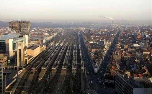 Treinsporen in Brussel weer vrij na aanrijding met zware gevolgen