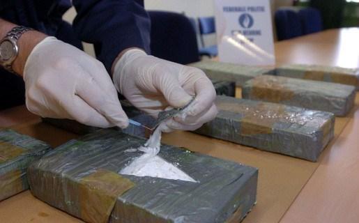 Ton cocaïne met bestemming Antwerpen onderschept
