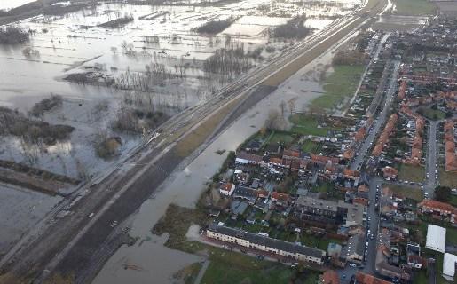 Wateroverlast in Kruibeke en Puurs