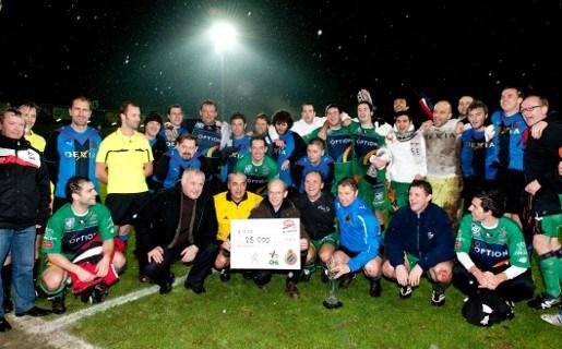 Philippe Muyters en co voetballen 25.000 euro bij elkaar voor MFL