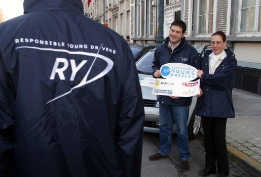 Responsible Young Drivers zet 300 vrijwilligers in bij oudjaar
