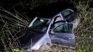 Helse achtervolging eindigt met crash in Bilzen