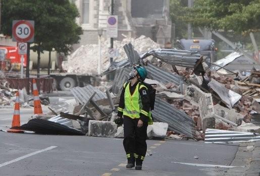 17 aardbevingen op 18 uur tijd in Christchurch