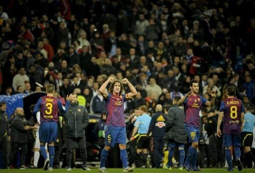 Barcelona wint opnieuw in Bernabéu