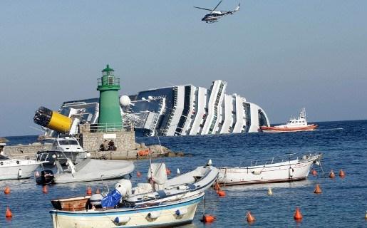 Wegpompen olie uit Costa Concordia weldra van start
